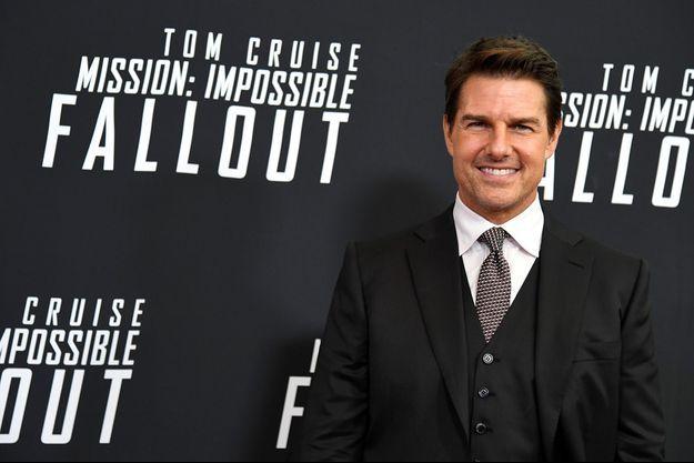 Tom Cruise, à Washington en 2018