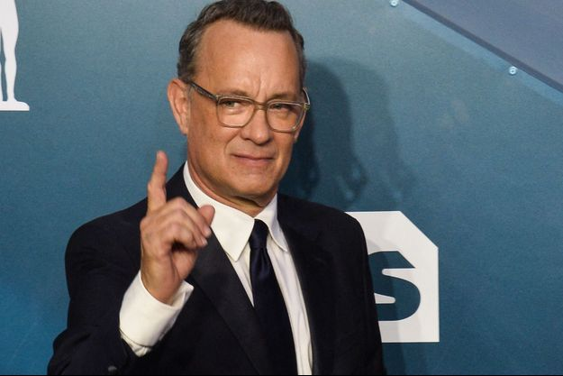 Tom Hanks à Los Angeles en janvier 2020