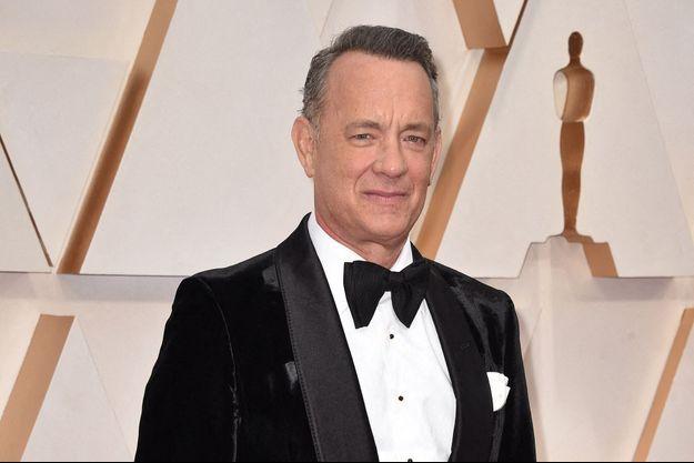 Tom Hanks lors de la cérémonie des Oscars à Hollywood en février 2020.