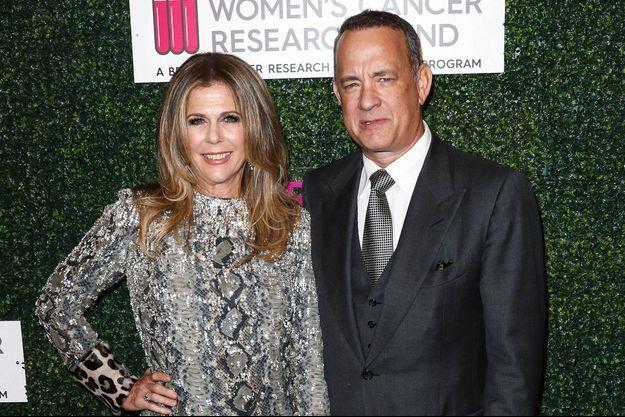 Rita Wilson et Tom Hanks