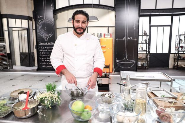 """Mohamed, gagnant de """"Top Chef"""" 2021."""