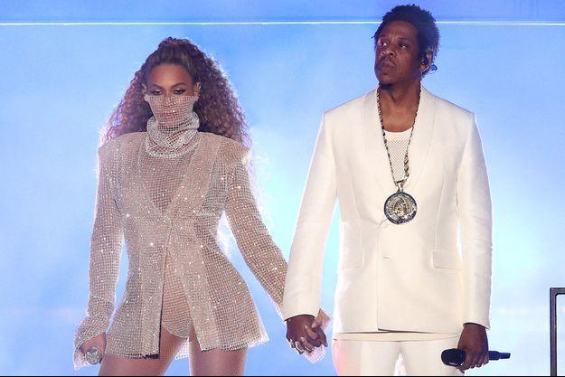 Beyoncé et Jay Z à Cardiff, le 6 juin 2018.