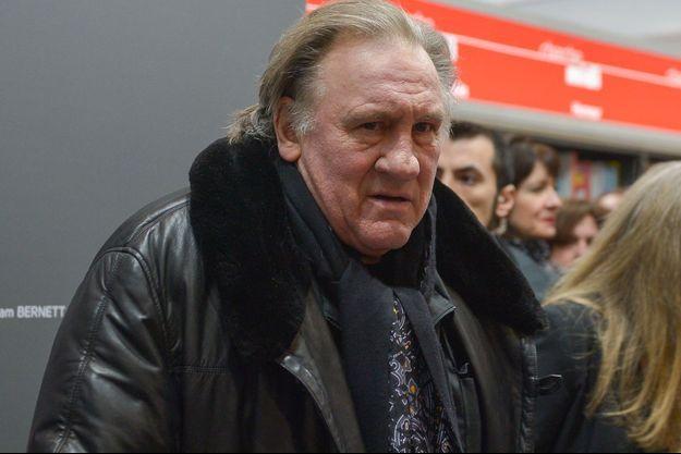 Gérard Depardieu en 2018.
