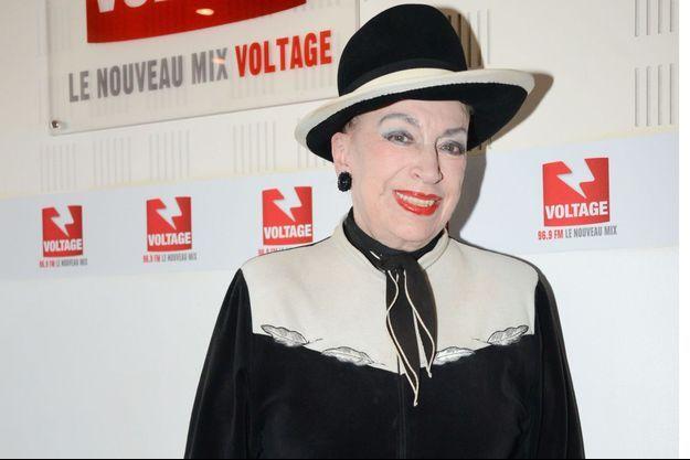 Geneviève de Fontenay à Paris le 3 octobre 2019