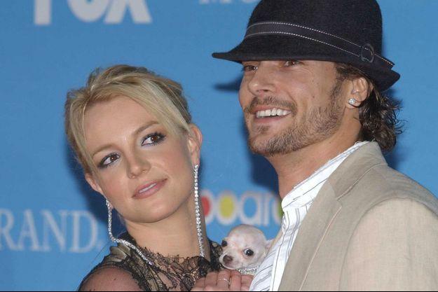 Britney Spears et Kevin Federline en 2004.
