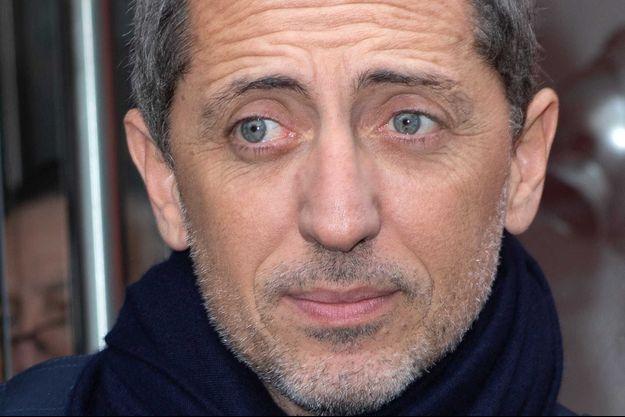 Gad Elmaleh en mars 2020, à Paris.