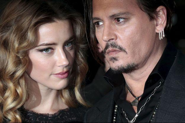 Johnny Depp et Amber Heard en 2015 à Londres