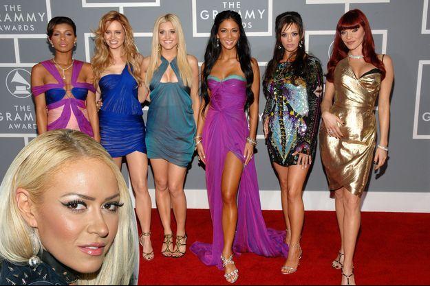Kaya Jones et les Pussycat Dolls.