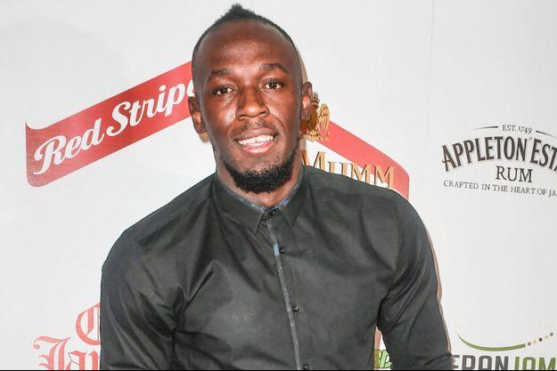 Usain Bolt à Londres en 2018.