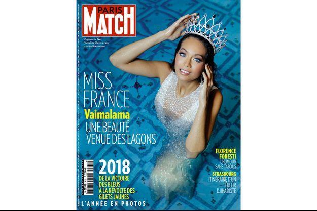 La couverture du numéro 3632 de Paris Match.