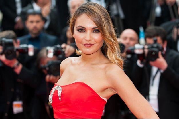 Valérie Bègue à Cannes
