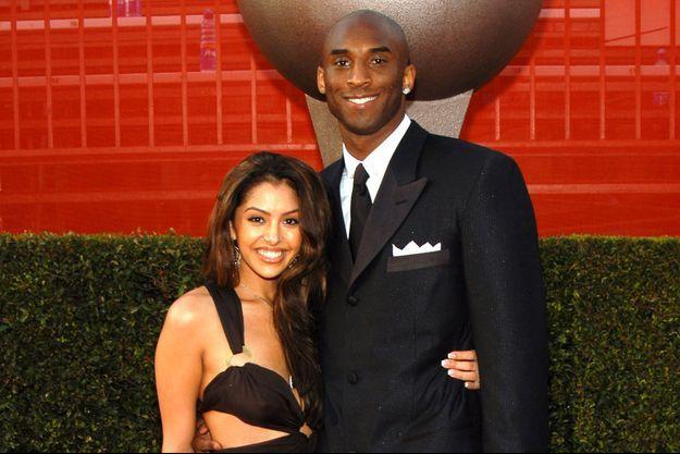 Vanessa et Kobe Bryant en 2003