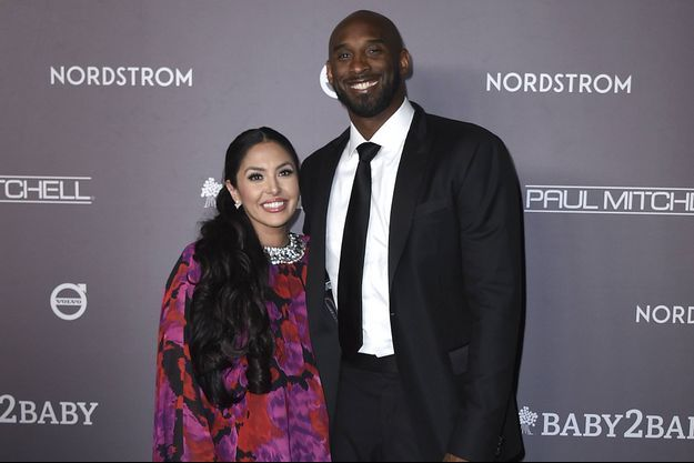Vanessa et Kobe Bryant en novembre 2019