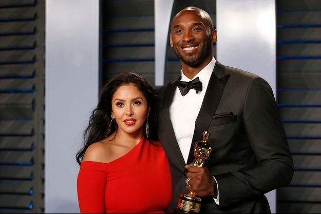 Vanessa et Kobe Bryant aux Oscars en 2018.