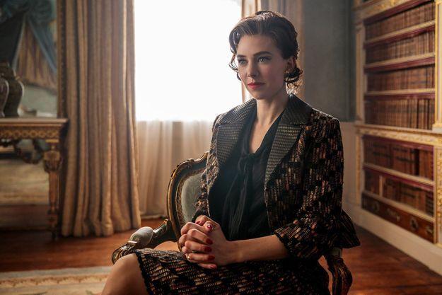 "Vanessa Kirby incarne la princesse Margaret dans ""The crown""."