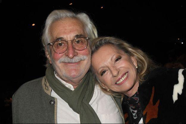 Christian Meilland et Véronique Sanson au concert de Catherine Lara à Paris en février 2020