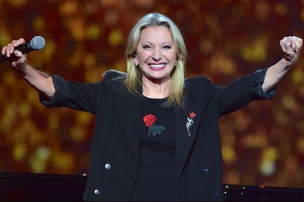 Véronique Sanson aux Victoires de la musique en 2017