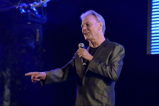 Herbert Léonard en concert en 2015.