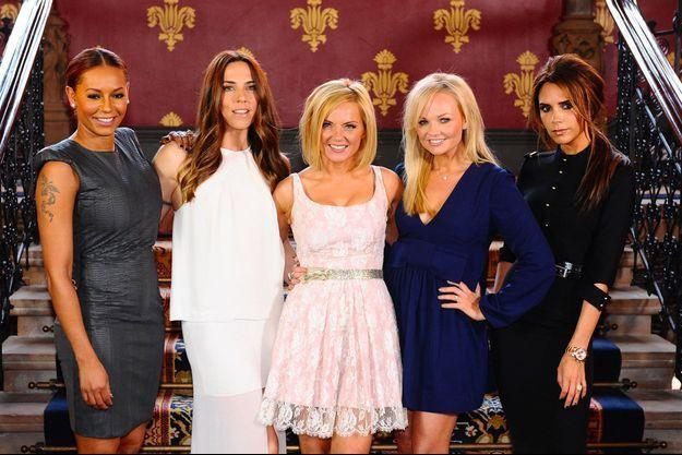 Les Spice Girls en 2012