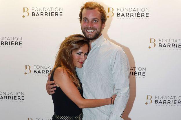 Victoria Bedos et son compagnon Romain Battisti