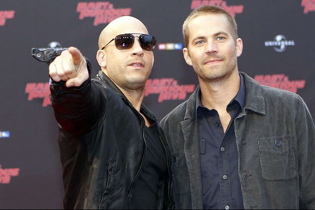 Vin Diesel et Paul Walker en 2011.