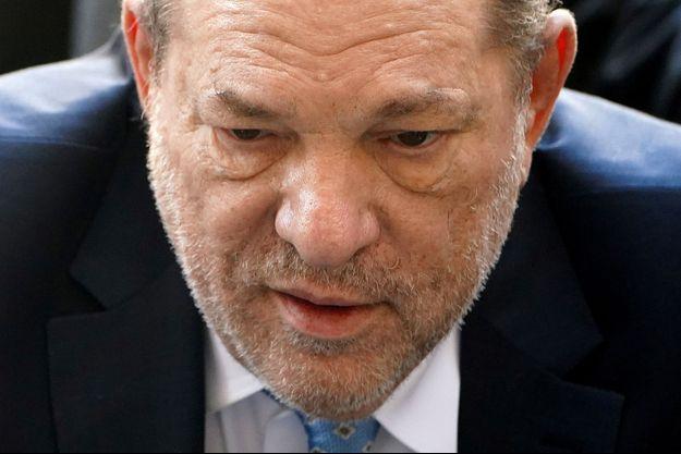 Harvey Weinstein au tribunal à New York, le 24 février.