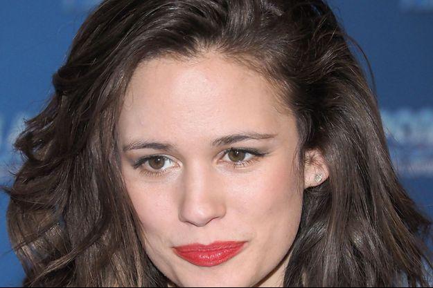 Lucie Lucas en février 2019, à Paris.
