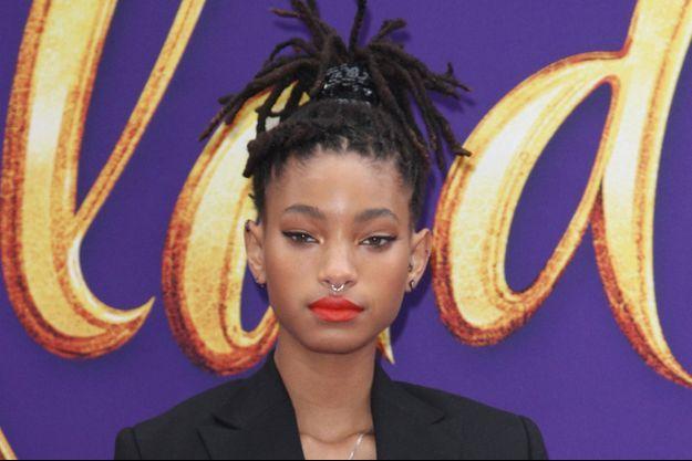 Willow Smith à la première du film Aladdin en mai 2019