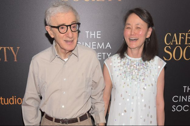 Soon-Yi Previn et Woody Allen à New-York en 2016.