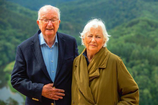 Le petit-fils d'Elisabeth, l'ex-roi Albert II, et sa femme Paola, en juin 2020.