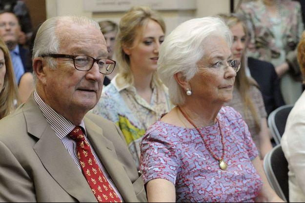 Albert II et Paola en juin 2014