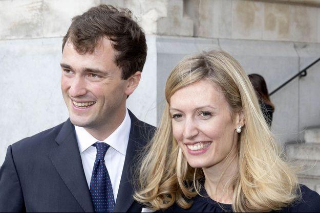 La princesse Elisabetta et le prince Amedeo de Belgique, le 8 septembre 2018