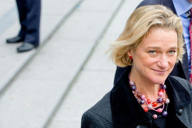 Delphine Boël au Palais de Justice de Bruxelles, en octobre 2014.
