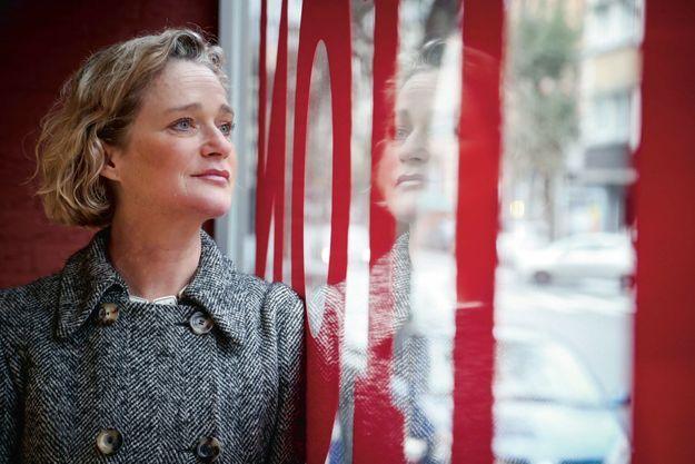 Delphine Boël, 52 ans, lors d'une exposition à Bruxelles en janvier.