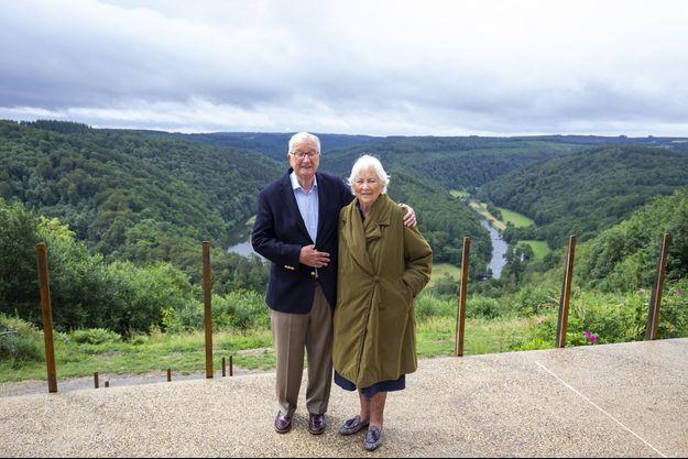 L'ex-roi Albert II et l'ex-reine Paola, le 28 juin 2020