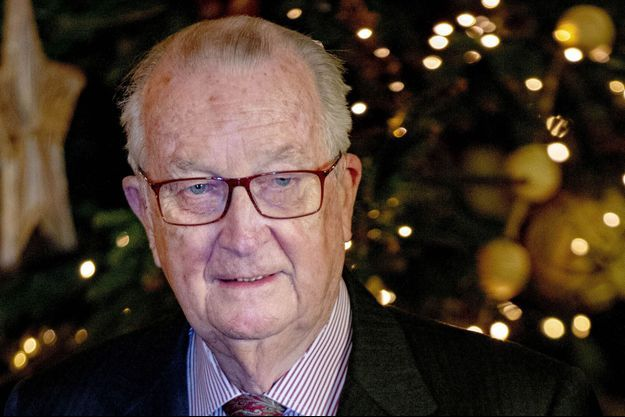 L'ex-roi des Belges Albert II, le 19 décembre 2018