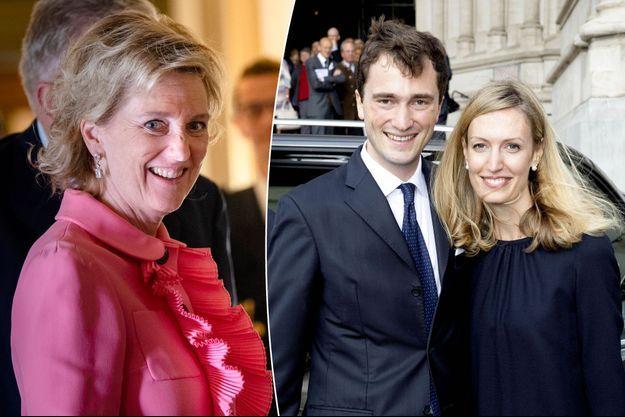 La princesse Astrid de Belgique, le 21 mai 2019 – Le prince Amedeo et sa femme Elisabetta le 8 septembre 2018