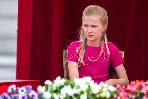 La princesse Eléonore de Belgique, le 21 juillet 2019