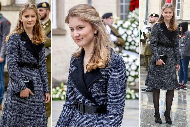 La princesse Elisabeth de Belgique à Luxembourg, le 4 mai 2019