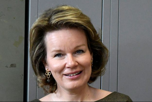 La reine des Belges Mathilde, le 3 mars 2020