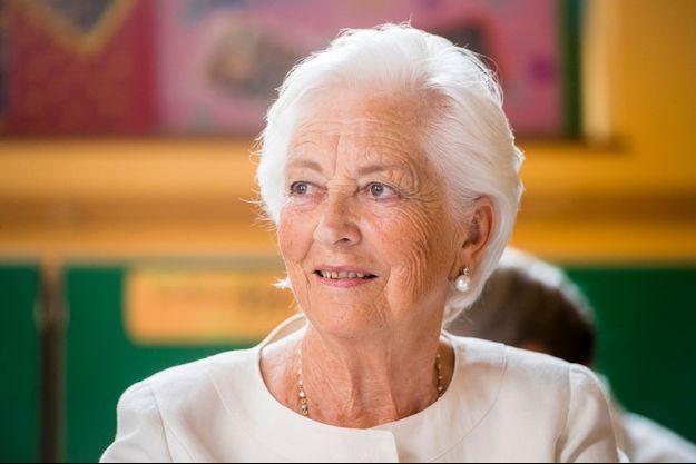L'ex-reine des Belges Paola à Bruxelles, le 29 mai 2018