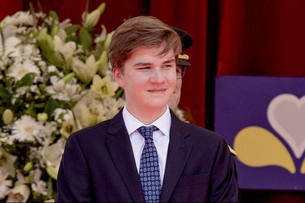 Le prince Gabriel de Belgique, le 21 juillet 2021