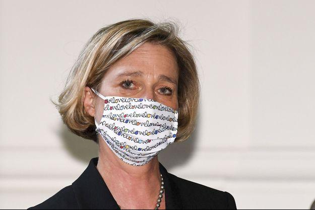 Delphine Boël à la Cour d'appel de Bruxelles, le 10 septembre 2020.
