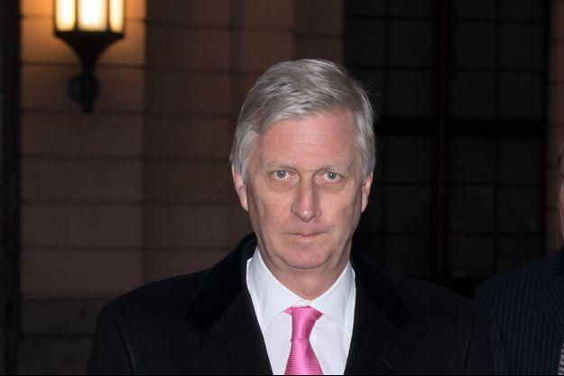 Le roi des Belges Philippe, le 23 novembre 2018