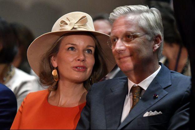 La reine Mathilde et le roi Philippe de Belgique à Osaka, le 14 octobre 2016