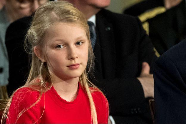 La princesse Eléonore de Belgique, le 25 octobre 2019