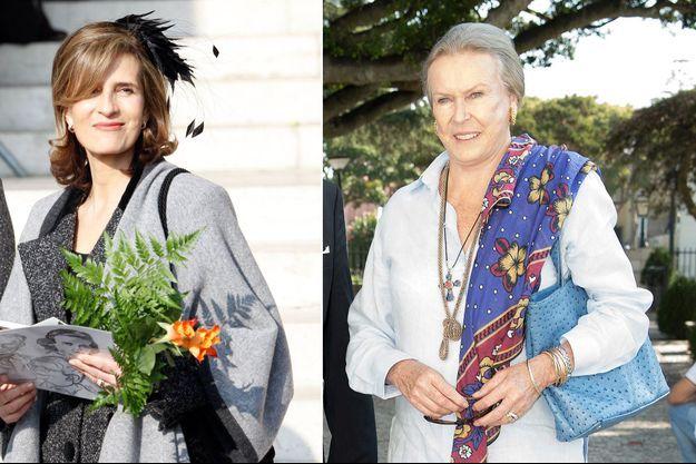 La princesse Esmeralda de Belgique, le 12 février 2015 - La princesse Marie Gabrielle de Savoie, le 29 septembre 2015