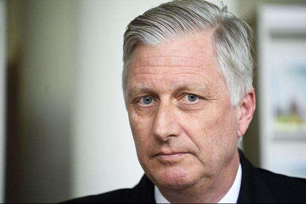 Le roi des Belges Philippe, le 11 mars 2020