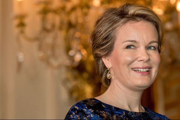 La reine des Belges Mathilde, le 10 janvier 2019