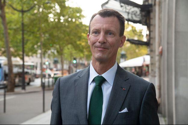 Le prince Joachim de Danemark, le 18 septembre 2020, jour de sa prise de poste à l'ambassade du Danemark en France à Paris